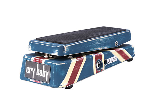 Dunlop Jerry Cantrell Cry Baby Wah Distressed Black