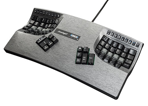 kinesis Advantage2 Graphite Ergonomic Keyboard